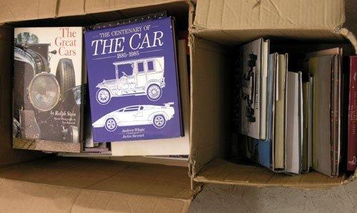 113: Assorted Motoring Books