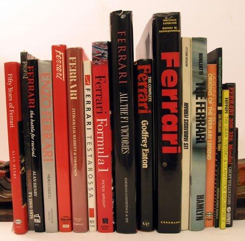 115: Quantity of Ferrari Books