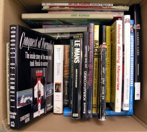 116: Quantity of Motor Racing Books