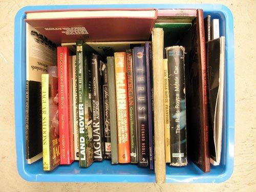 118: British Marque History Books