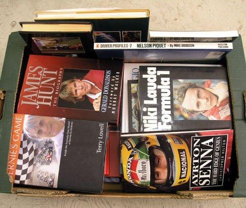 119: Motor Racing Biographies