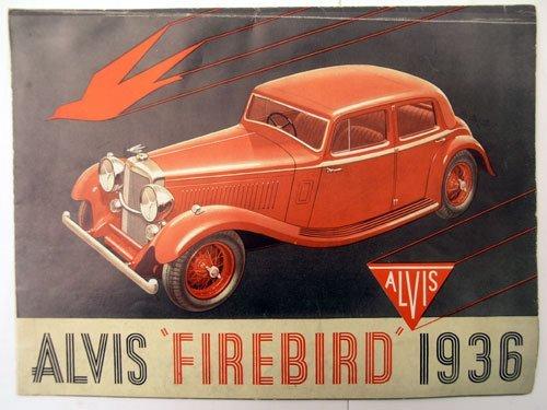 122: Alvis Firebird Sales Brochure