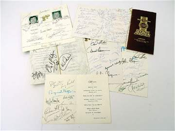 607: Quantity of Signed Menus