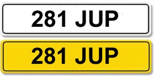2001: Registration Number 281 JUP