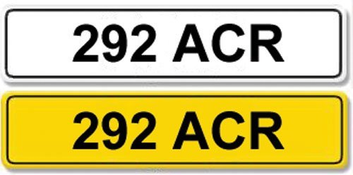 2004: Registration Number 292 ACR