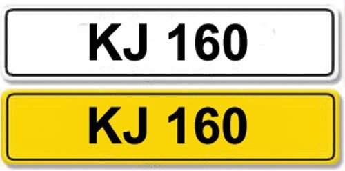 2010: Registration Number KJ 160