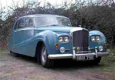 3003: 1956 BENTLEY S1 SALOON