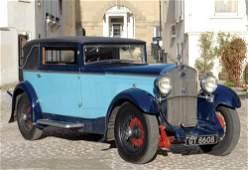 3029: 1932 DELAGE D6 FAUX CABRIOLET