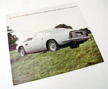 102: Aston Martin DB6 Sales Brochure
