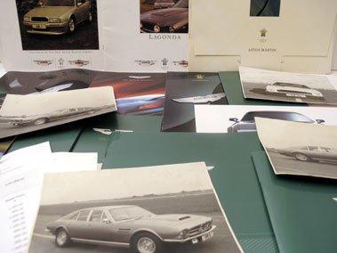 103: Quantity of Aston Martin Paperwork