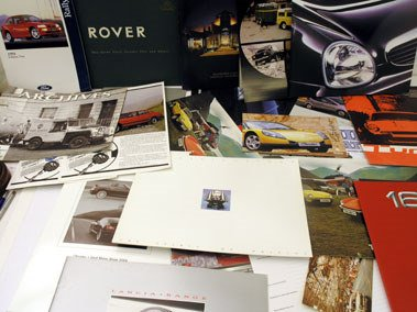 111: Assorted Sales Brochures