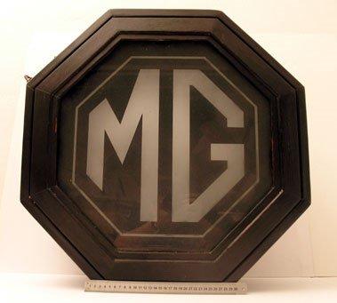 800: Original Octagonal MG Factory Lightbox