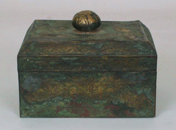 022: Bronze&Gold Reliquary T'ang or Nara 646-710