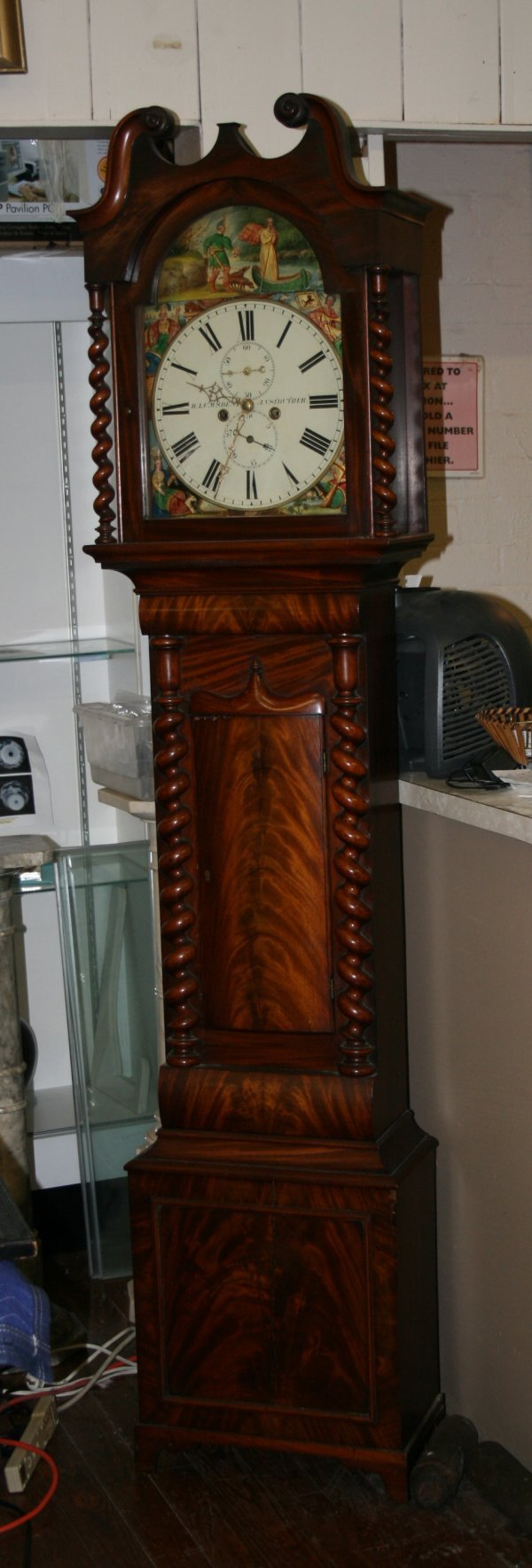 230: Scottish Grandfather Clock - circa 1830
