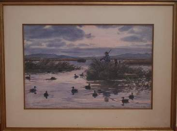 100: Aiden L. Ripley American Watercolor