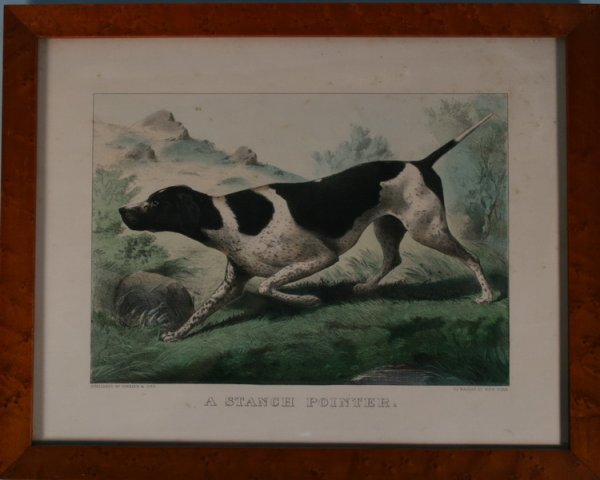 157: Currier & Ives Hand Colored Lithograph