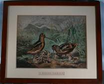 159 Currier  Ives Hand Colored Lithograph