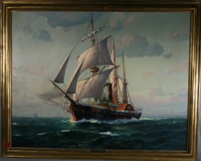 1: Frank Vining Smith, American (1887-1967)Oil Painting
