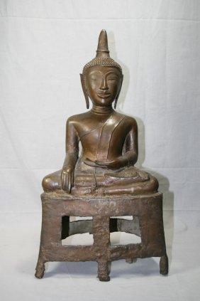 16th Century Bronze Tibetan Buddha