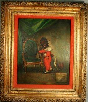 Xaviar Gazul - Rare Haitian Oil Painting