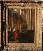 18: Emanuel Witte, Dutch (1617-1692) Oil/Panel