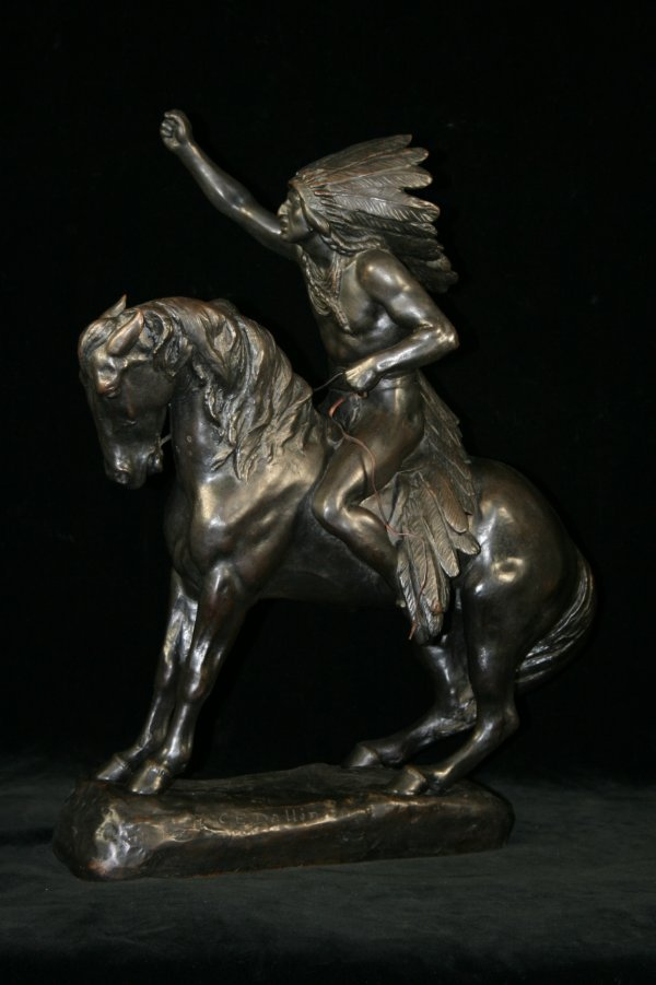"50: Cyrus Edwin Dallin, ""The Protest"" Bronze"