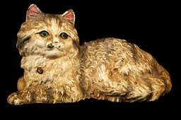 723 Cast Iron Hubley Painted CAt