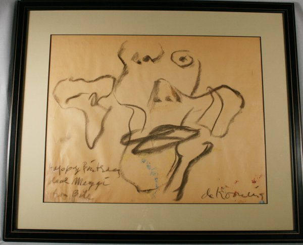403: Willem DeKooning Dutch/American (1904-1997)