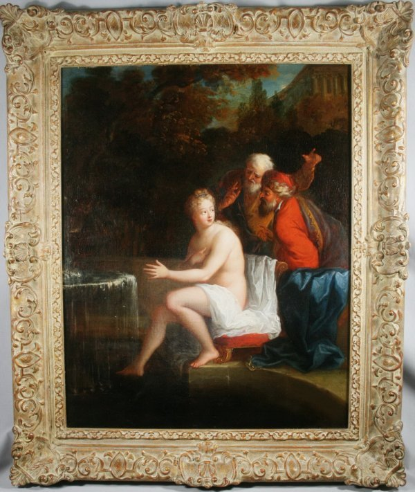 464: Flemish School,  Old Master 18thc Oil Paintings