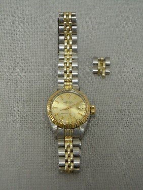 2: Ladies Rolex Oyster Perpetual Watch