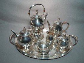 3: International Sterling Silver Tea Set
