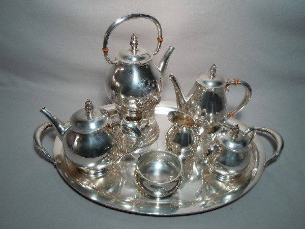 3: International Sterling Silver Tea Set