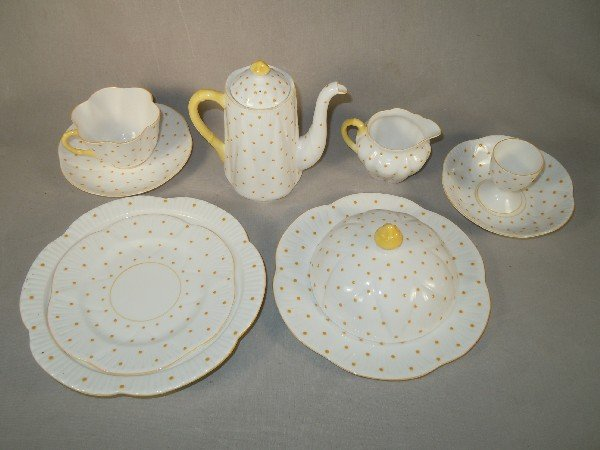12: Shelley China Luncheon Set