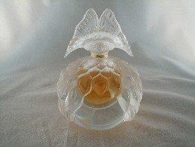 """17: Lalique Perfume Bottle, """"Papillion"""""""