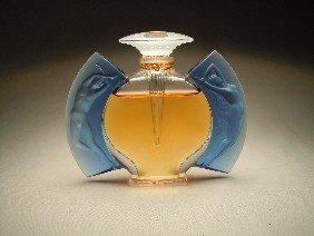 """22: Lalique Perfume Bottle, """"Jour Et Nuit"""""""