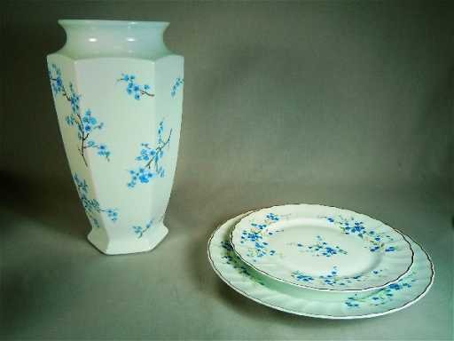 336 Bernardaud Limoges China Myosotis