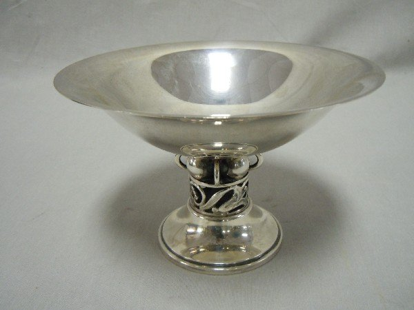 15A: Small  Durham Footed Sterling Silver Bowl