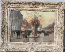400: Edouard Cortes, Oil on Canvas