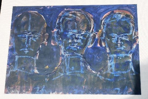 "402: Lester Johnson, ""Three Heads Frontal"""