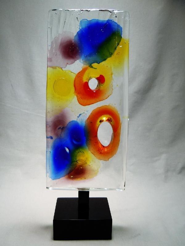 409: Enzo Scarpa Italian Glass Sculpture