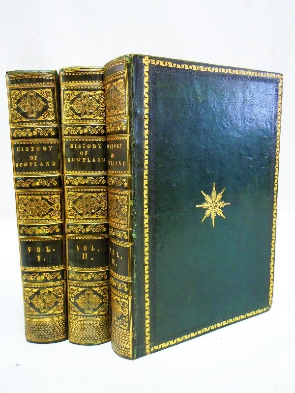 412: Fore-Edge Book, History of Scotland