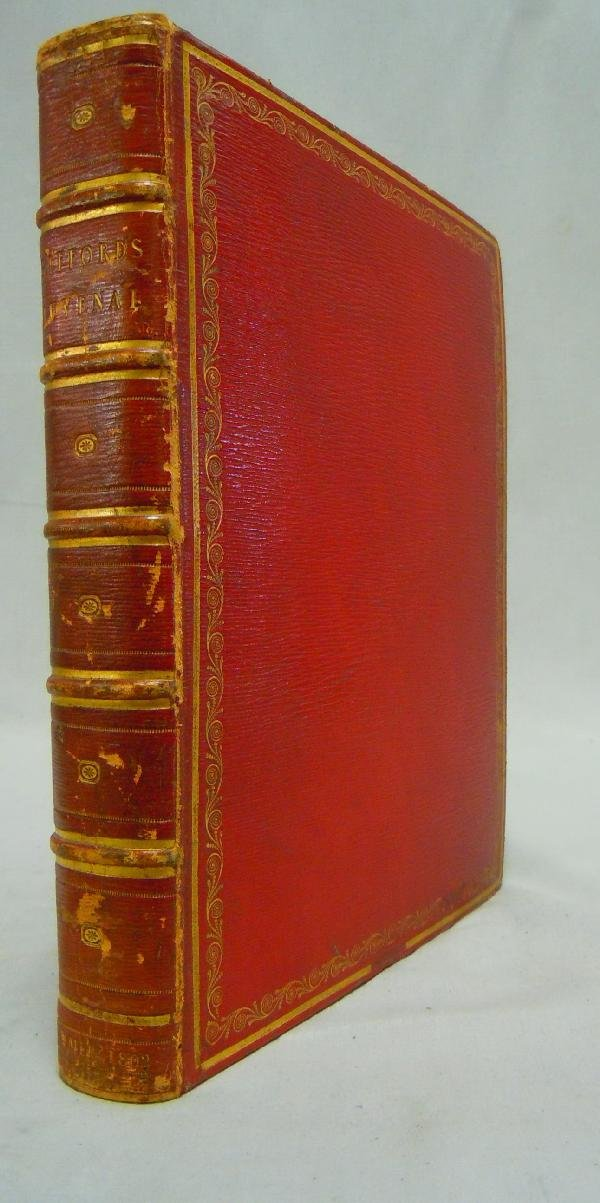 414: Fore-Edge Book, Giffords Juvenal