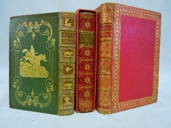 416: Lot of Three Fore-Edge Books