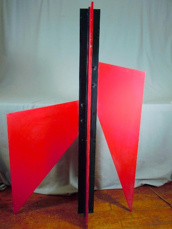 418: Lyman Kipp Steel Sculpture, Gladiator