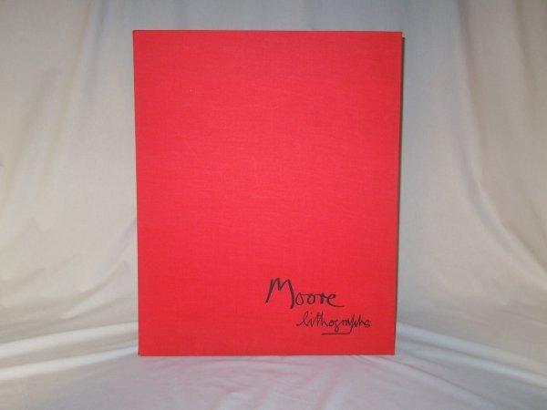 419: Henry Moore Audens Poem Book