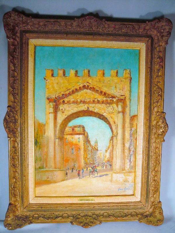 420: Merio Amelgio, Oil on Canvas