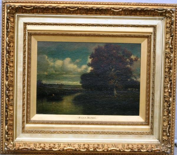 423: Jules Dupre, Oil on Canvas
