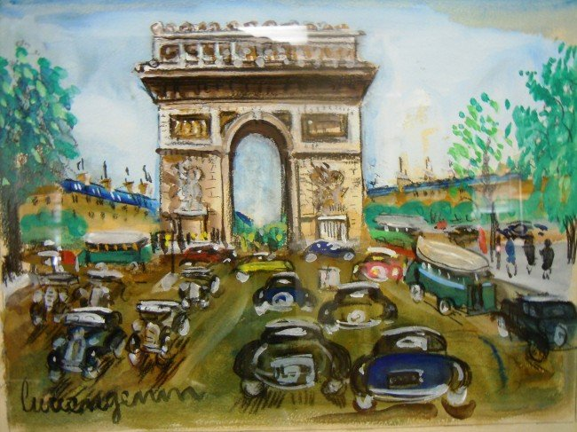 "3: Lucien Genin, ""L'Arc De Triomphe"", circa 1950"