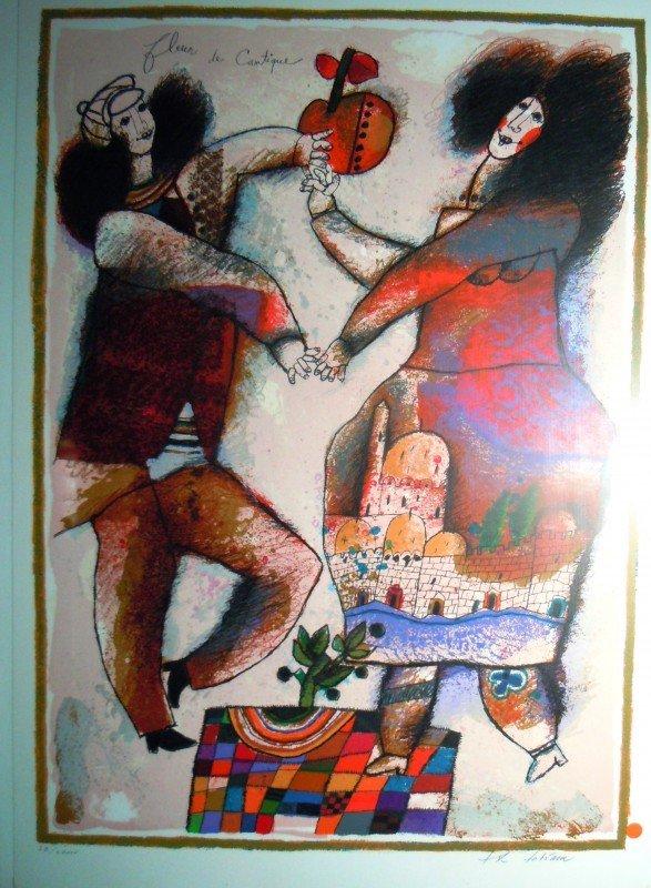 """12: Theo Tobiasse, """"Fleur de Cantique"""", 1980"""
