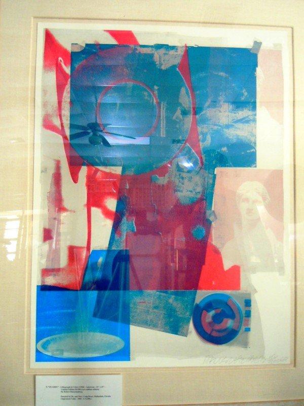 """13: Robert Rauschenberg, """"Quarry"""""""